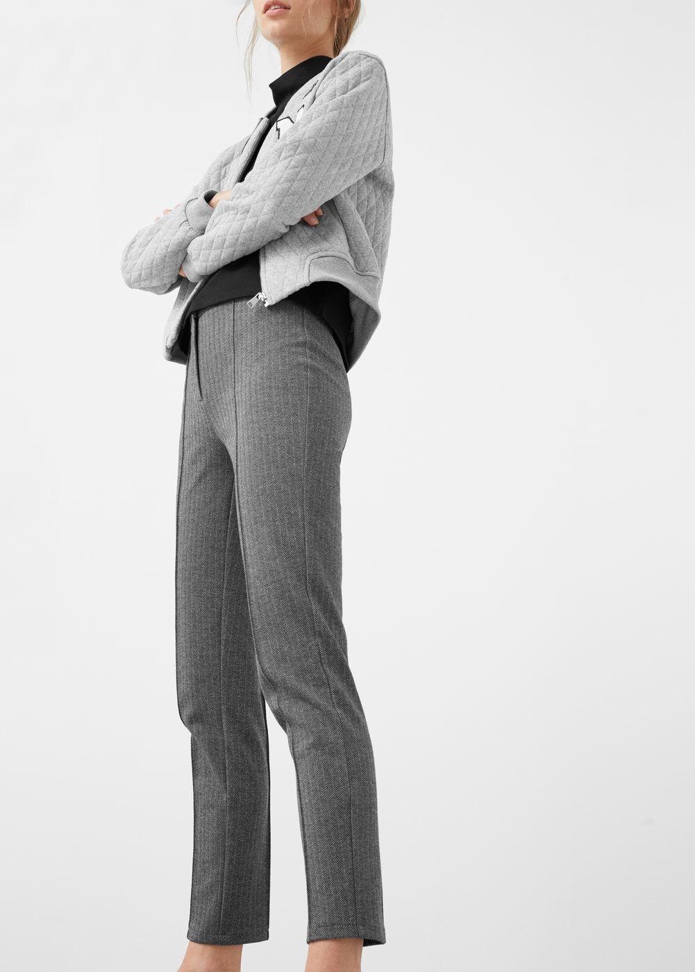 Slim Fit Cotton Blend Pants Women Trousers Women Pants For Women Pants