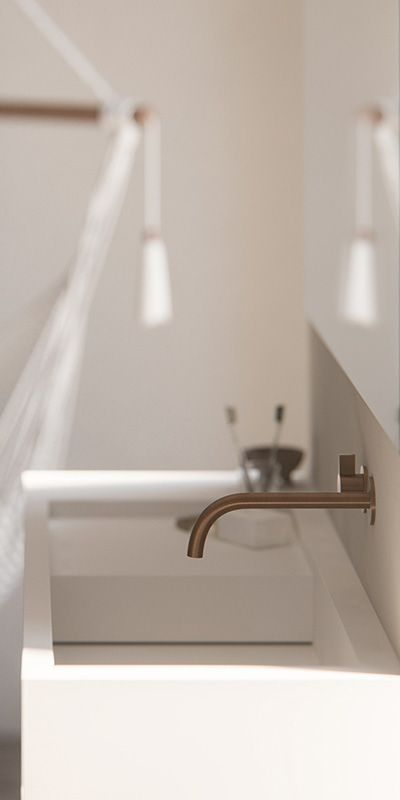 Modern bathroom design | Minimalist bathroom, Solid surface and Boon