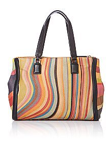 Paul Smith London Multi Coloured Tote Bag Now 508 00 Was 635