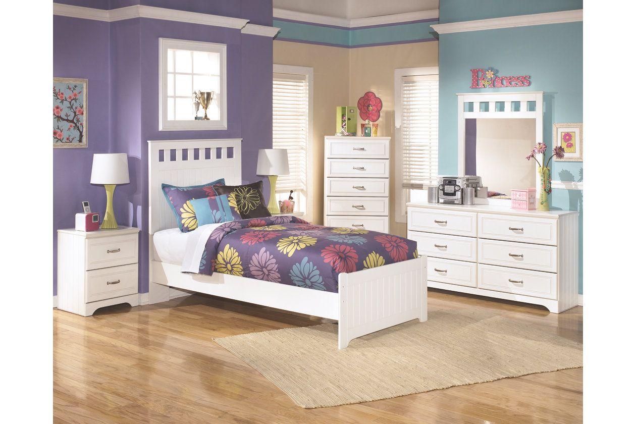 Best Lulu 5 Piece Twin Panel Bedroom Ashley Furniture 640 x 480