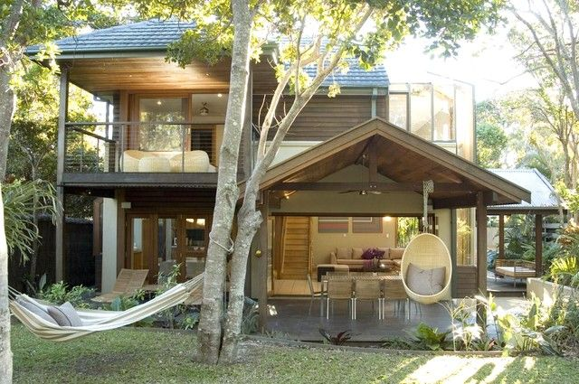 The house is open to the tropical garden - Slowdance Luxury Beach House, Byron Bay - Byron Bay - rentals