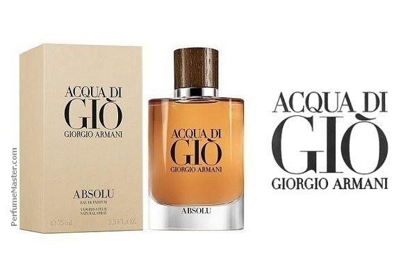 Giorgio Armani Acqua Di Gio Absolu New Fragrance Perfume News In