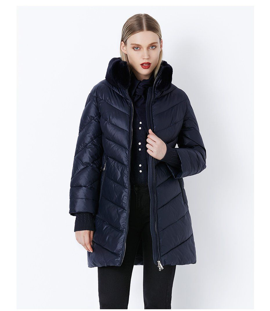 a72f69349 MIEGOFCE 2019 Winter Women's Collection Windproof Women's Thick Coat ...