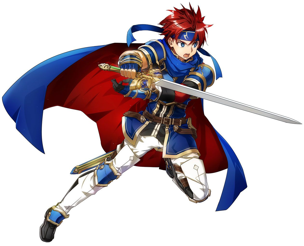 Roy Battle Pose from Fire Emblem: Heroes