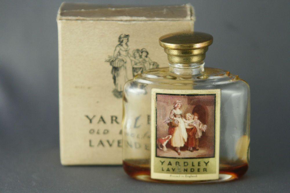 Vintage Yardley Old English Lavender Perfume Bottle In Original Box Purse Size Lavender Perfume Perfume Perfume Bottles