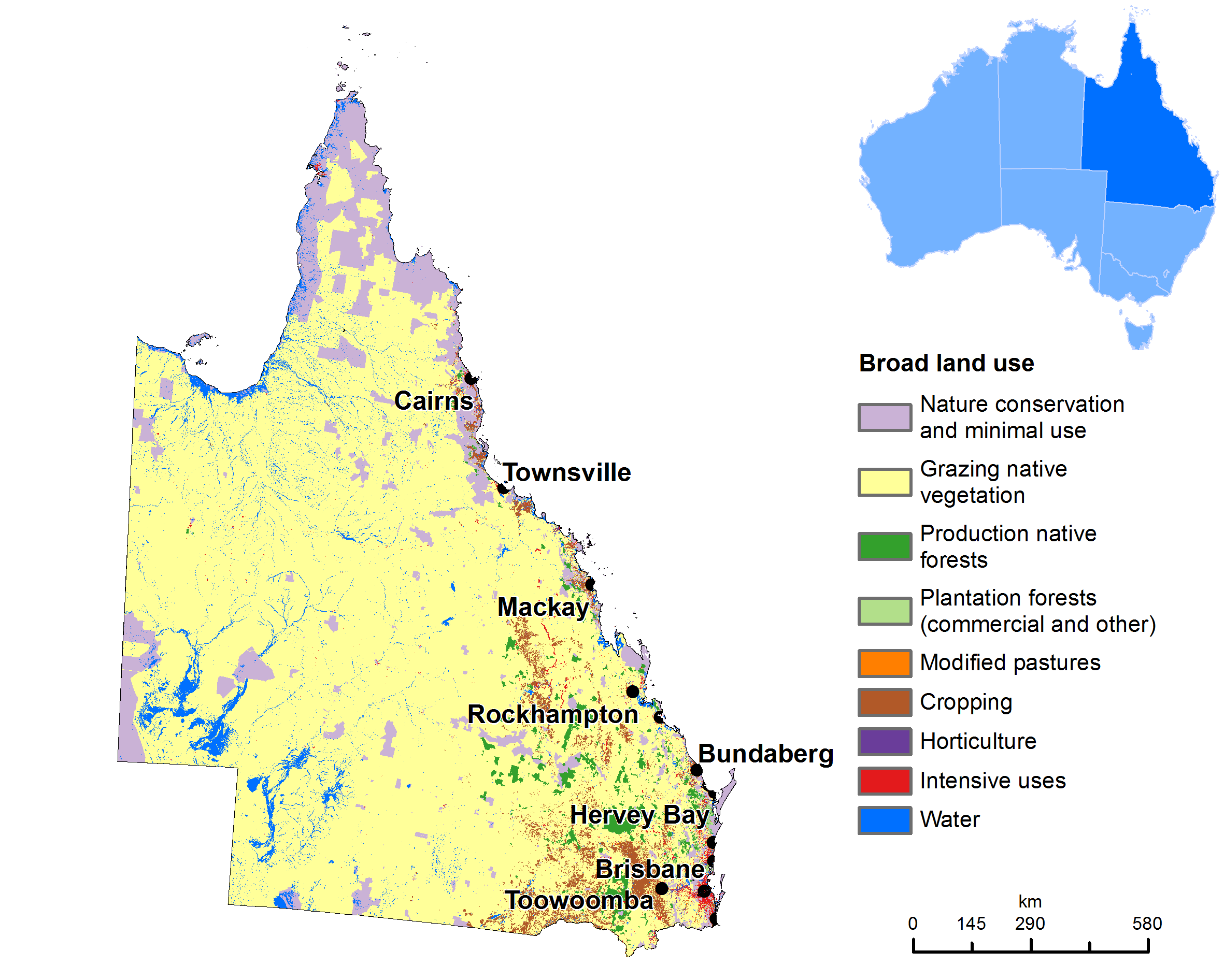 Australia Land Map.Land Use Map Of Queensland Geo2 Australia Map Movie Posters