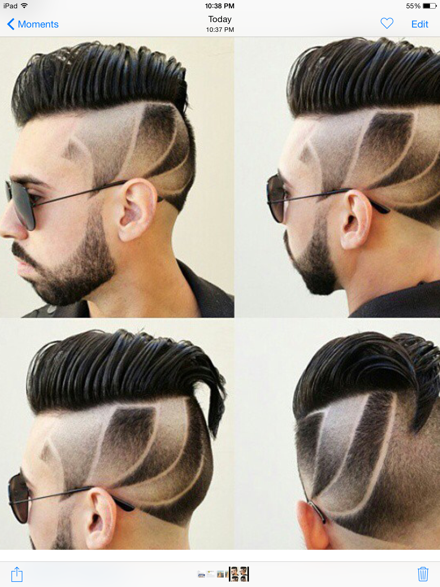 Ium getting this next time i get my hair cut fuck it dégrade marie