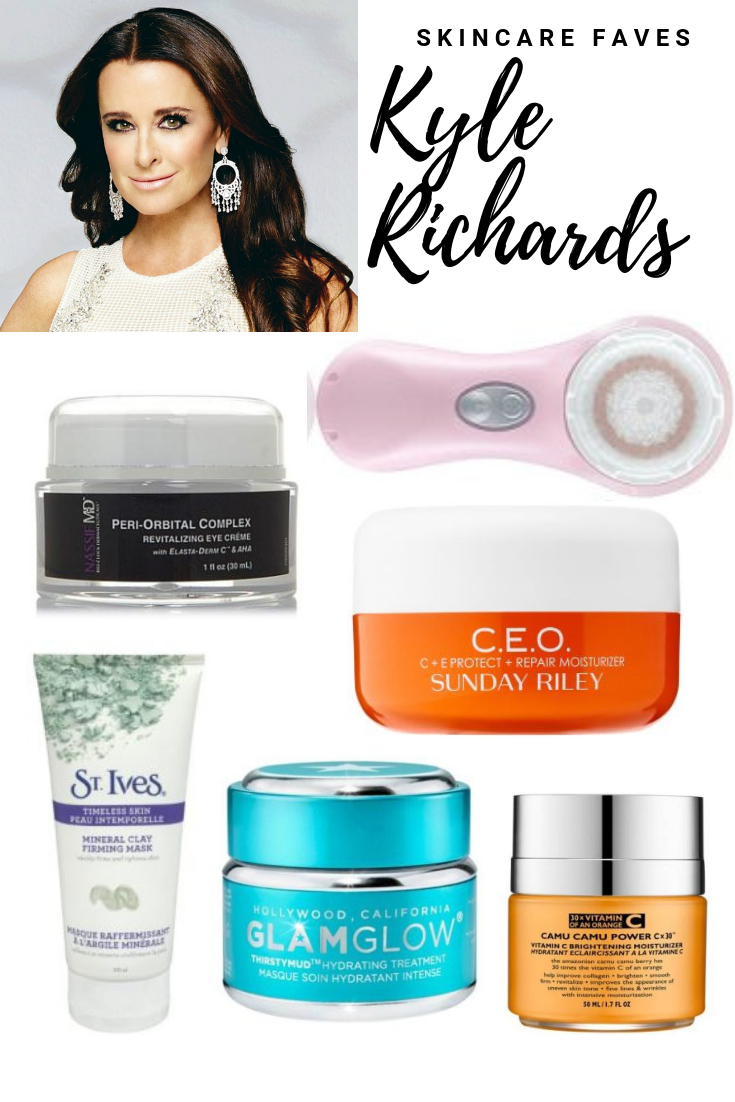 Kyle Richards Beauty Secrets Blushing In Hollywood Kyle Richards Beauty Secrets Skin Care