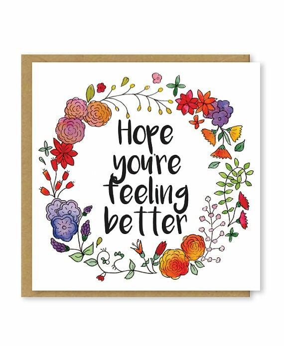 Feel Well Soon Messages: Greetings