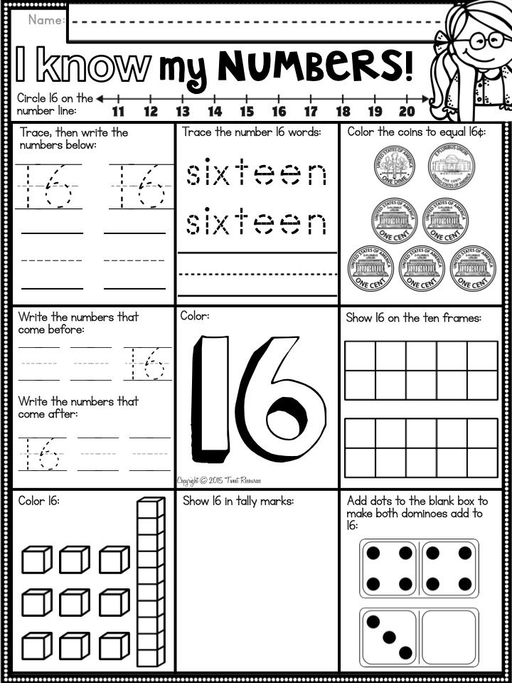 A Number A Day 0 50 Number Sense Printables For Primary Number Sense Printables Number Sense Math Printables
