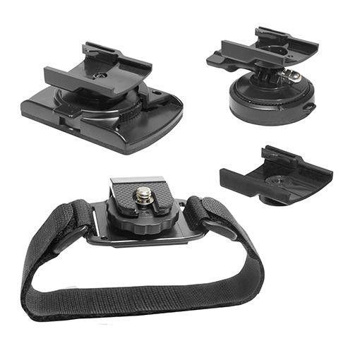Value Pack Helmet-Goggle-Vented Hemet Mount
