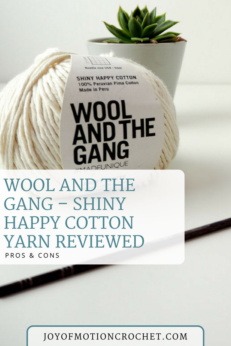 Wool And The Gang Shiny Happy Cotton Reviewed