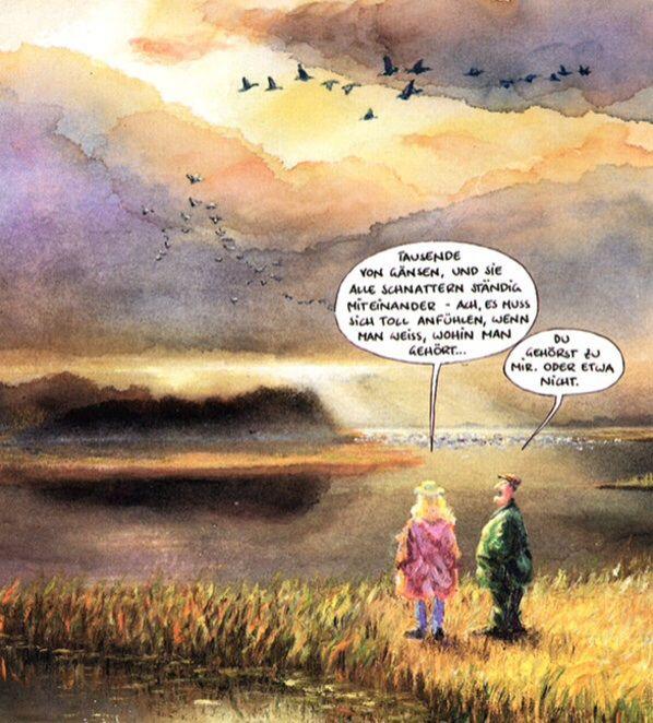 #marunde #wo gehört man hin? | Cartoon-illustrationen ...