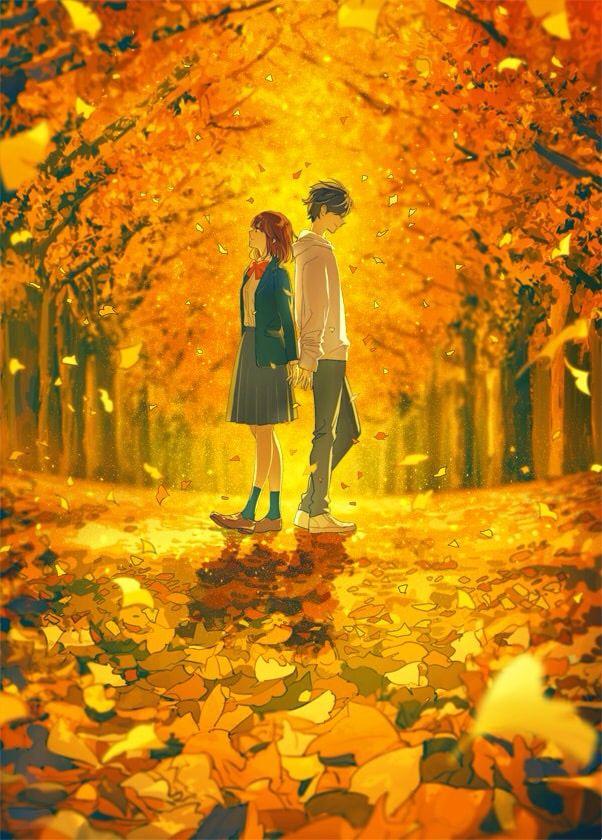 Pin oleh Hikaru di anime couple Pasangan animasi, Seni