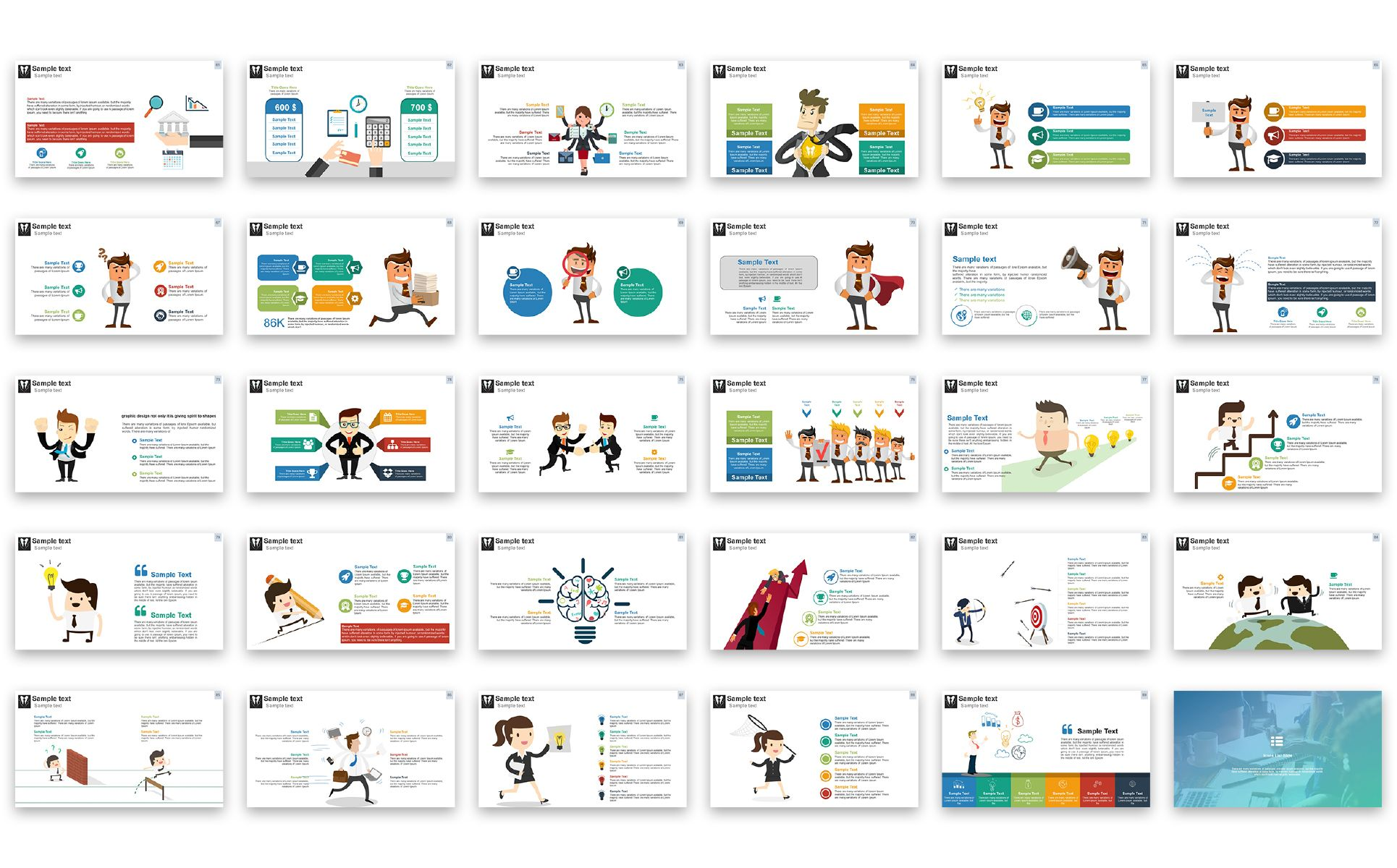 business presentation - powerpoint template | website designs