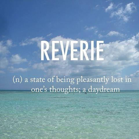 Reverie ˈrevəre Early 17th Century French Origin Beautifulwords Wordoftheday Beach Cuba Beautiful Words In English Unusual Words Weird Words