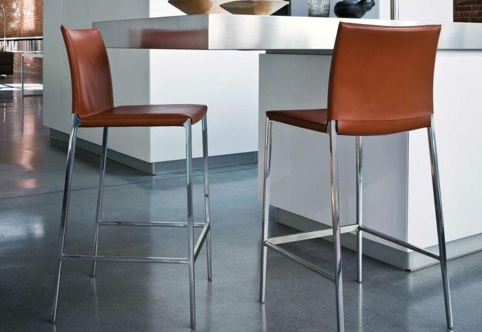 Barstuhl Design \u2013 25 Ideen aus verschiedenen Materialien Möbel