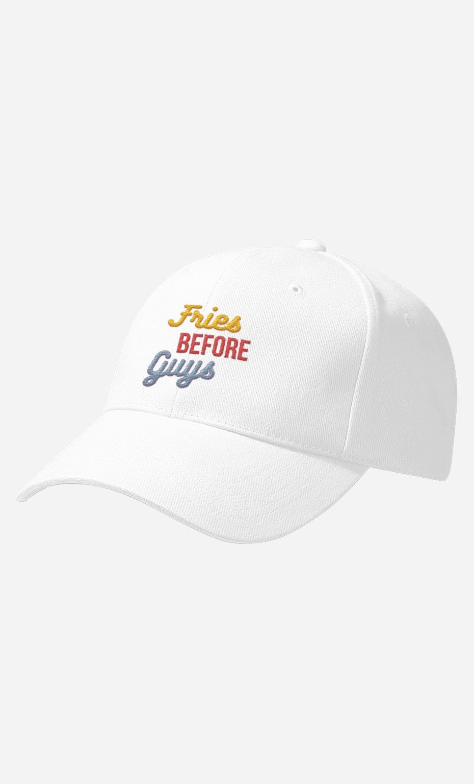 f1284230bfb20 Casquette Fries Before Guys - Wooop.fr Dad Hats