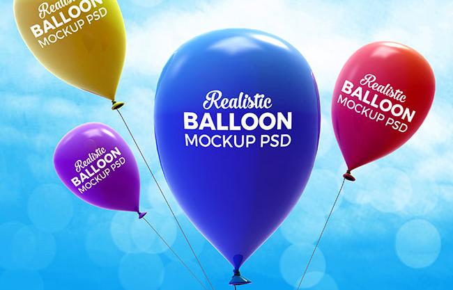 15 Realistic Balloon Psd Mockup Templates Mockup Templates Mockup Psd Psd Mockup Template