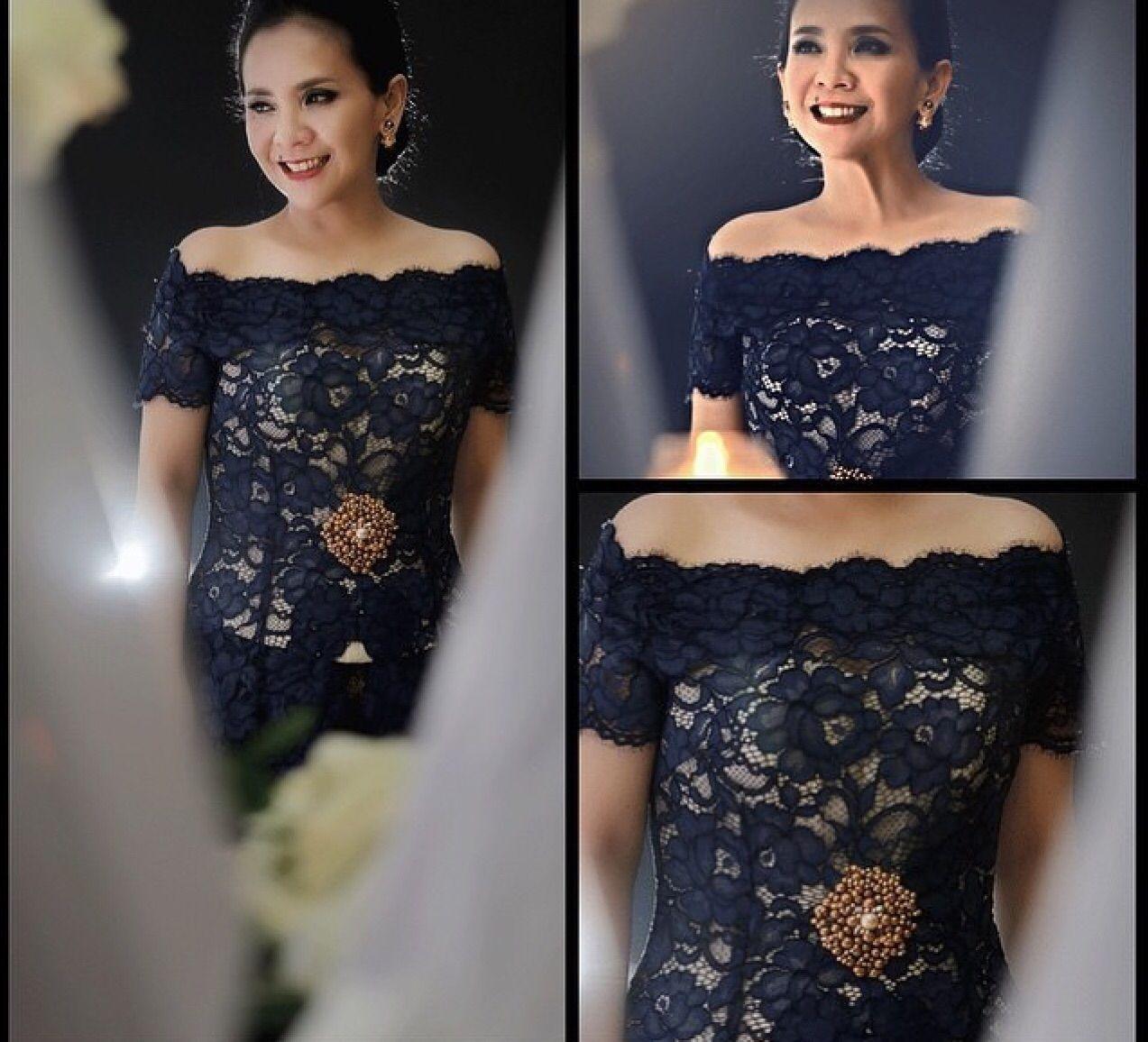 Kebaya Sabrina Indonesia Kebaya Kebaya Kebaya Dress Kebaya Sabrina