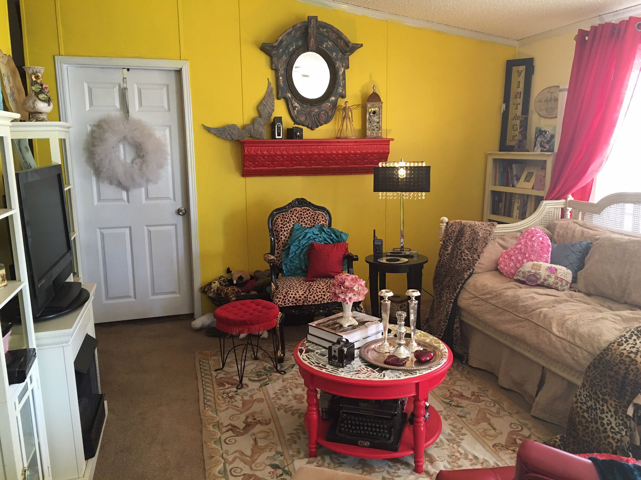 My Hollywood Boho Living Room @Teraleigh @Wildheartstudio #Pragueoklahoma
