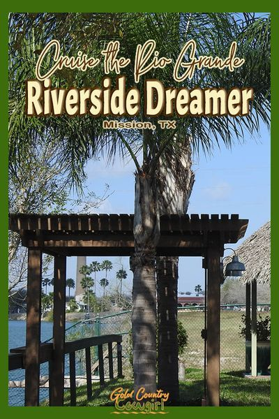 Don't expect spectacular scenery when you cruise the Rio Grande on the Riverside Dreamer. Instead, go prepared to learn some interesting facts and have a relaxing afternoon outdoors on the river. Combine this with a meal and a cocktail in the open-air, tranquil ambience surrounded by nature at the Riverside Club in Mission, Texas, and you'll have a great time. #travel #usatravel #cruise #rivercruise #texas #riogrande