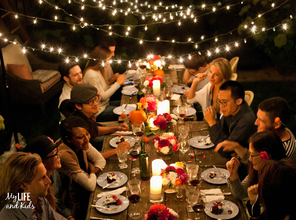 Five Easy Ways Your Family Can Help Hungry Kids Outdoor Dinner Partiesbirthday