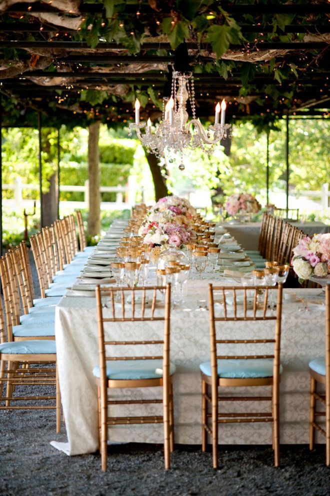 Wedding Trends Strictly Long Tables Chic wedding California