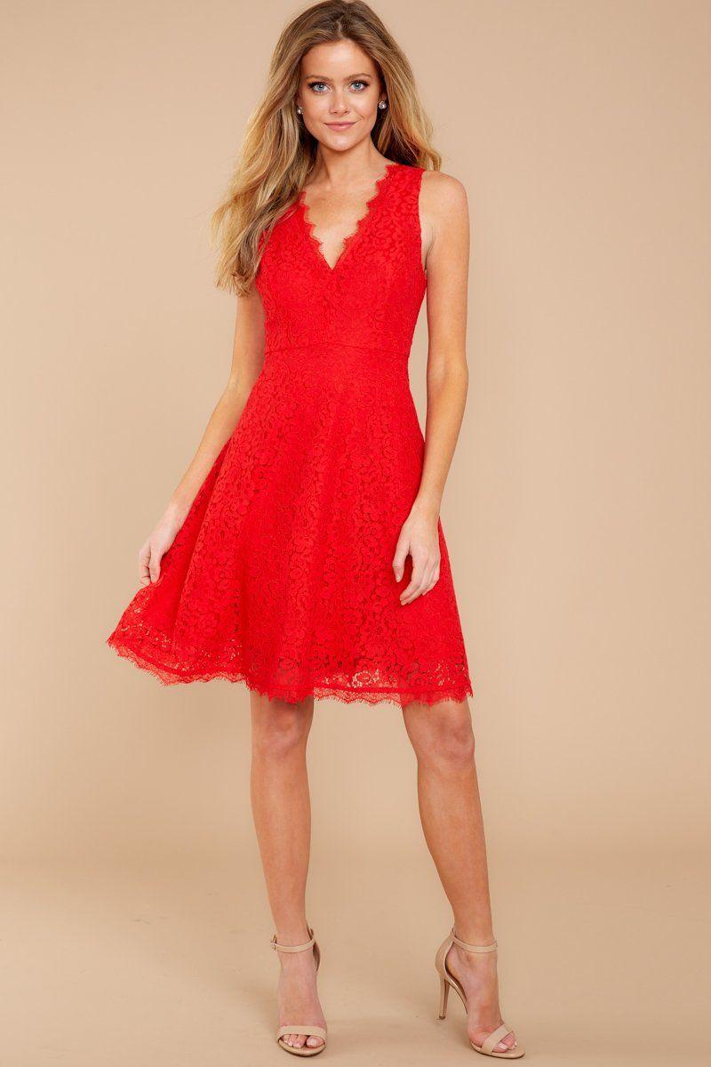 cf929eab0c Chic Lace Dress - Trendy Dress - Dress -  44.00 – Red Dress Boutique ...