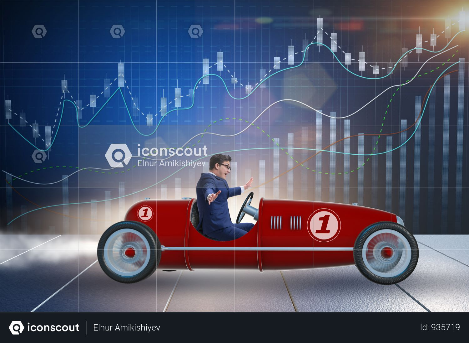 Premium Businessman Driving Car In Financial Concept Photo Download In Png Jpg Format Business Man Car Ins Car
