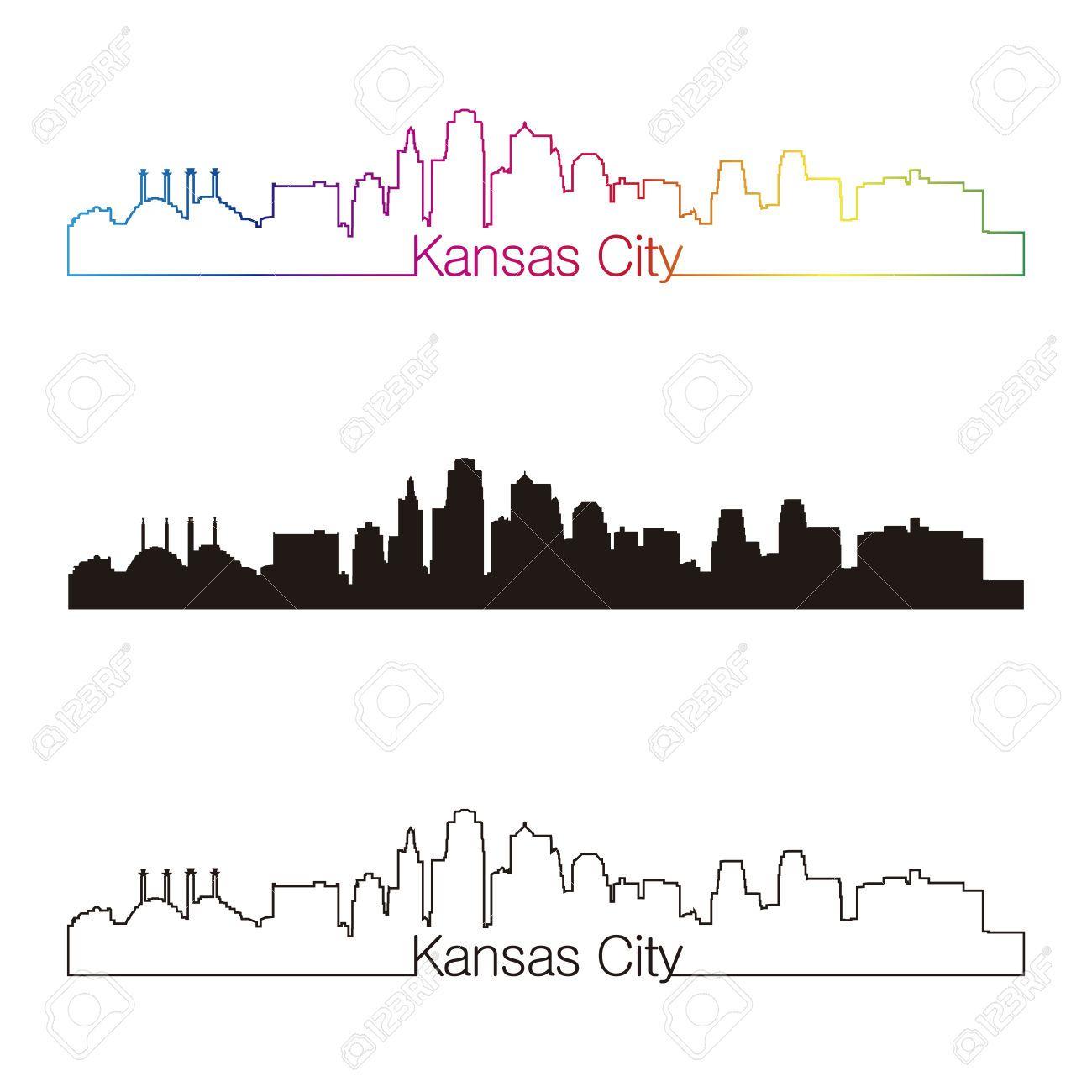 Paul Rommer Kc Skyline Outline Tattoo Idea Kansas City Skyline Kansas City City Silhouette