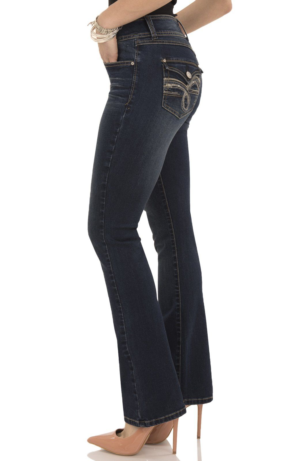 4f4759083f3 Angels Jeans Womens Curvy Bootcut Jeanabm00532b Adriana 16     Check out  the image by visiting the link.(It is Amazon affiliate link)   WomenJeansCollection