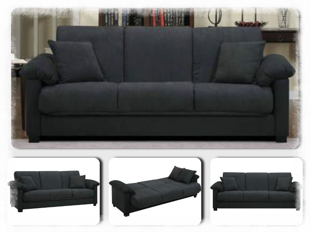 Convertible Sofa Bed Sleeper Couch Furniture Modern Lounge Living Room Grey New Living Room Grey Couch Furniture Modern Lounge