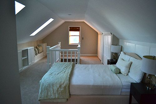Converting Attic Into Master Suite Bedroom Upstairs Bathroom