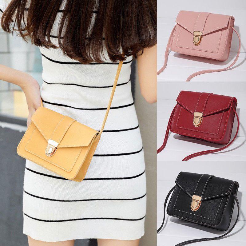 Fashion Women Leather Shoulder Bag Tote Messenger Crossbody Satchel Purs Handbag