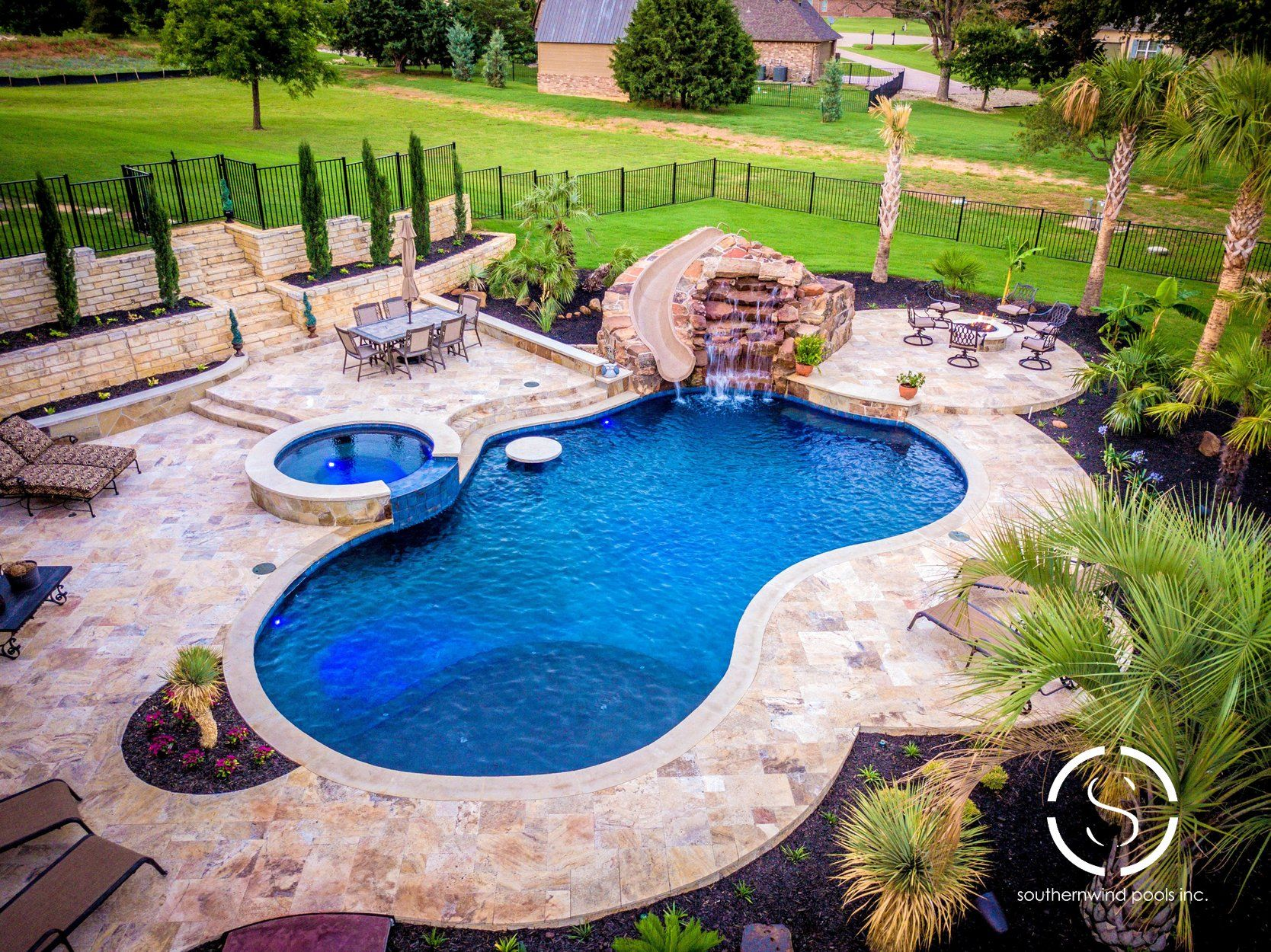 Natural Freeform Pool 208 By Southernwind Pools Pool Freeform Pools Pool Maintenance Checklist