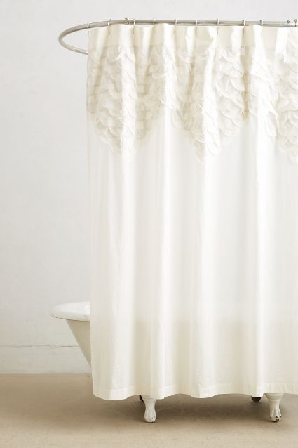 Scallop Sequence Shower Curtain