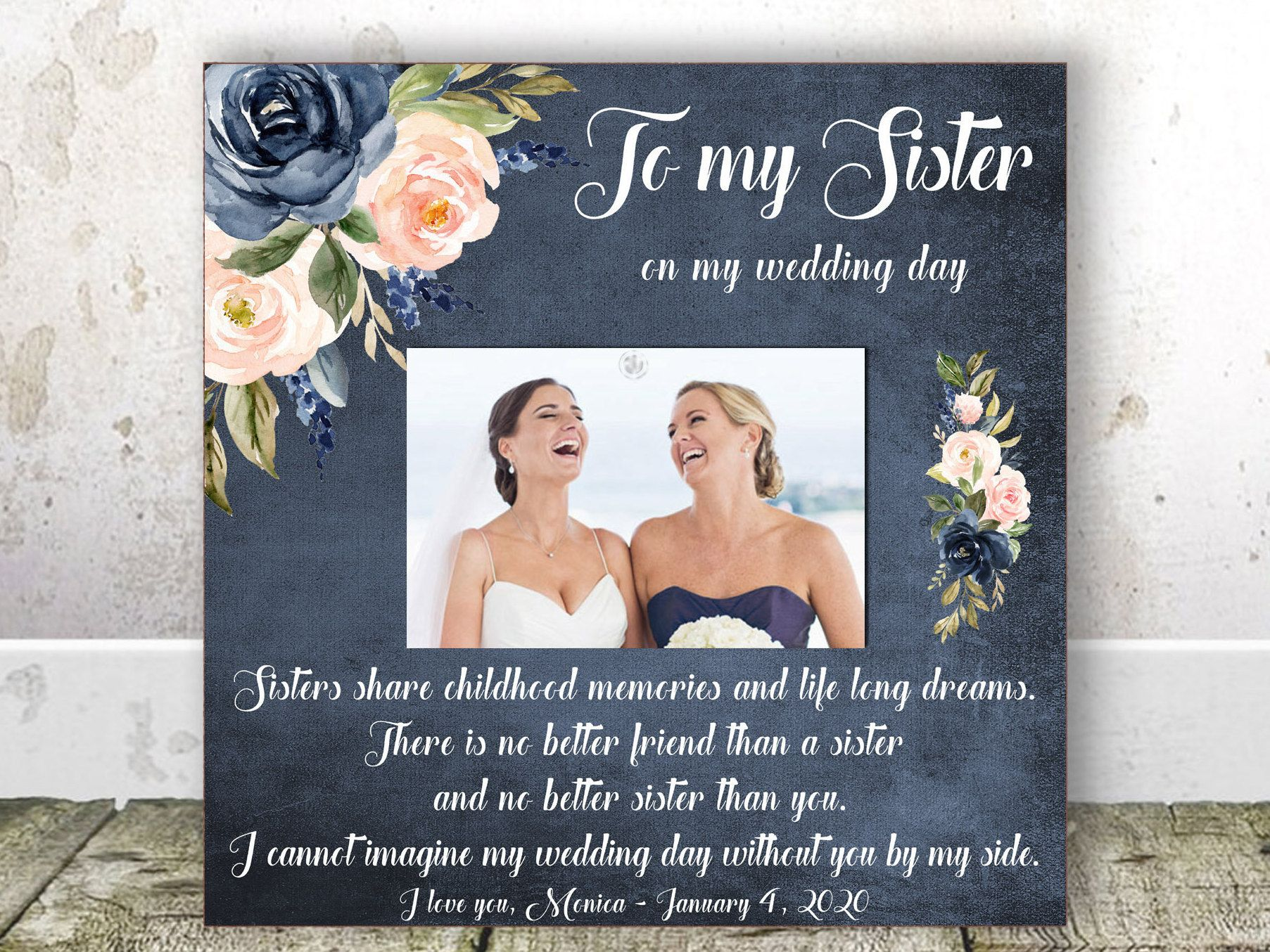 Maid Of Honor Gift Matron Of Honor Gift Sister Wedding Gift