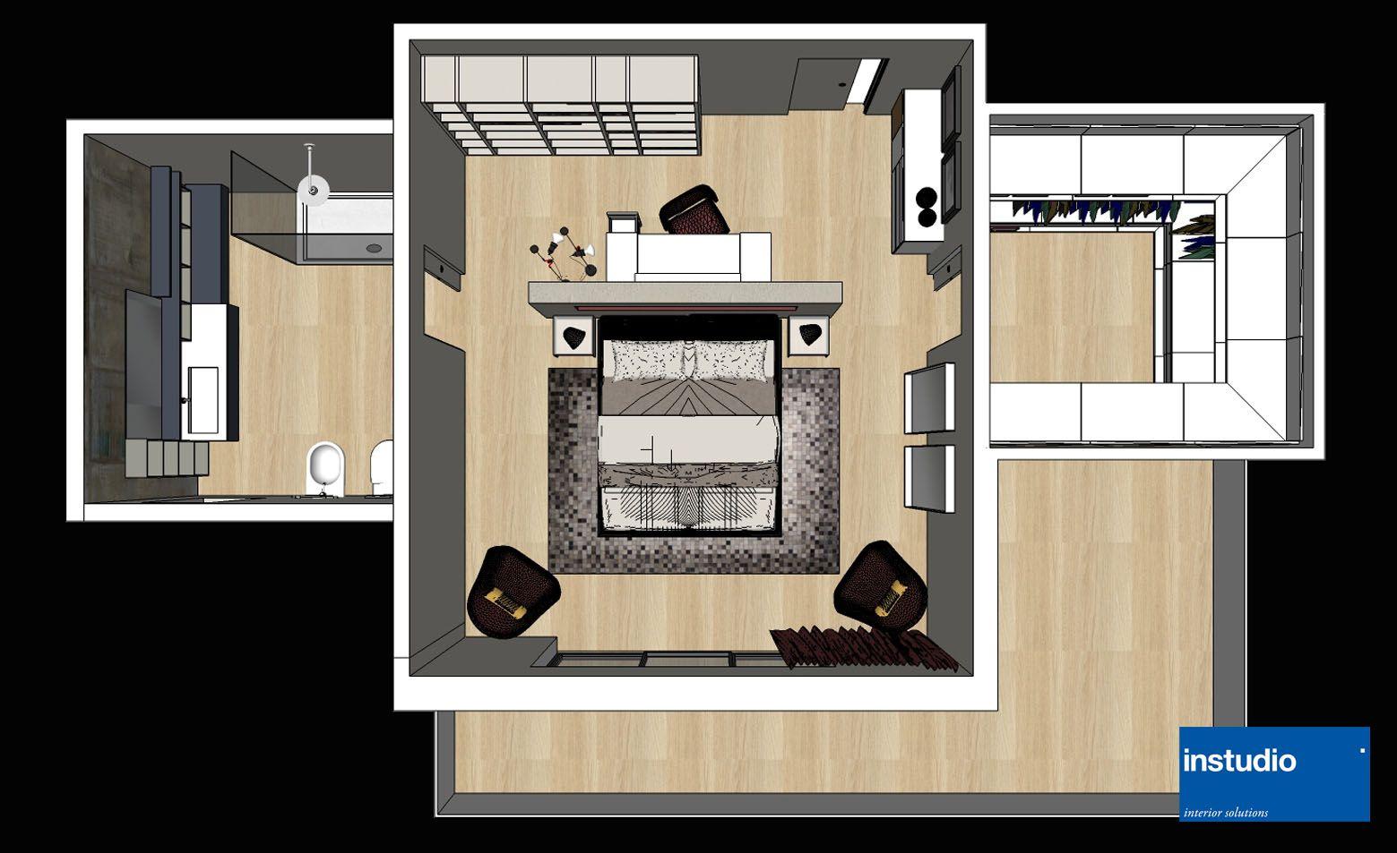 Pianta bagno ~ La cabina armadio: 10 progetti a seconda della tua camera cabina