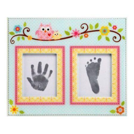 Amazon.com: Happi by Dena First Prints Framing Kit, Happi Baby Girl: Baby
