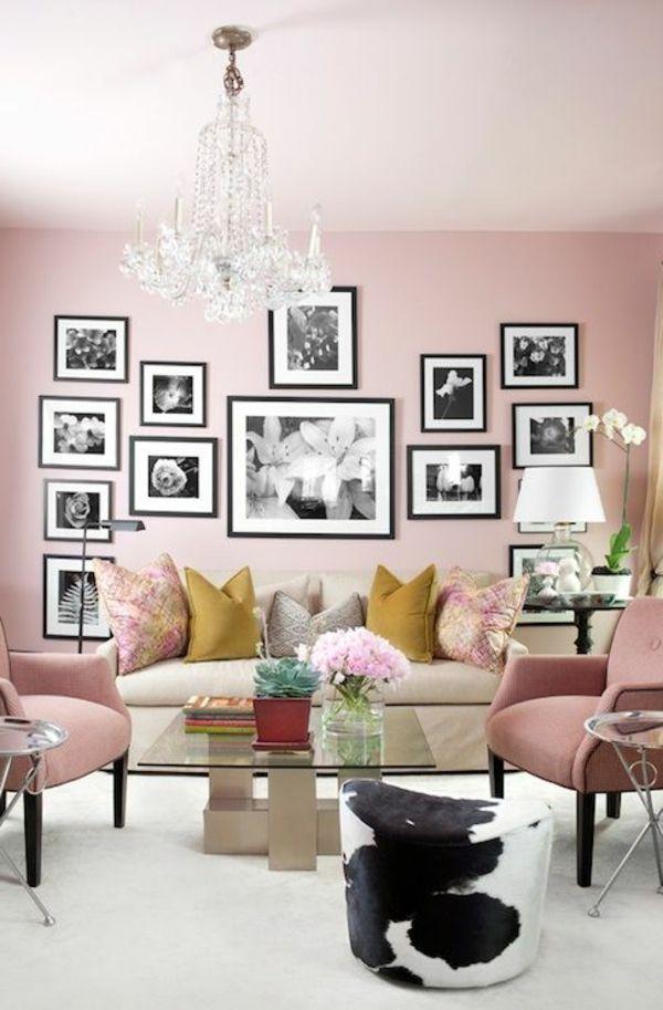 toller hocker aus kuhfell gallery wall pinterest kuhfell hocker und rosa w nde. Black Bedroom Furniture Sets. Home Design Ideas