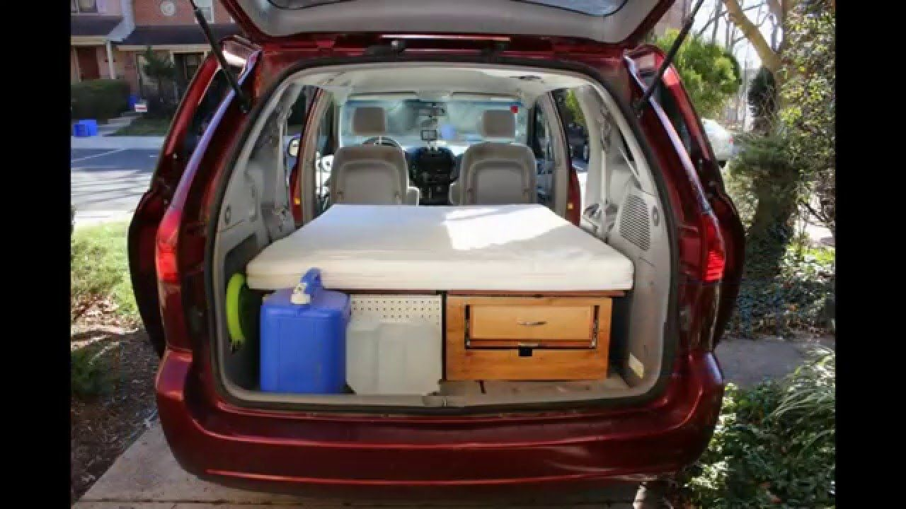 25dafc0243a56d Convert your Minivan into a Camper within few minutes   Part 1 - YouTube