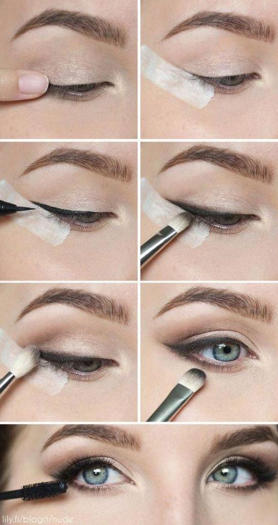 22 Augen Schminke Tutorial Schritttempo z. Hd. Schritttempo Dies tägliche natürliche Gestalt ist wie am Schnürchen und unkompliziert – Leben #eyemakeup
