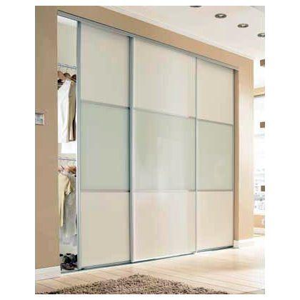 Wideline Sliding Door - White and white glass - 610mm at Homebase -- Be inspired  sc 1 st  Pinterest & Wideline Sliding Door - White and white glass - 610mm at Homebase ...