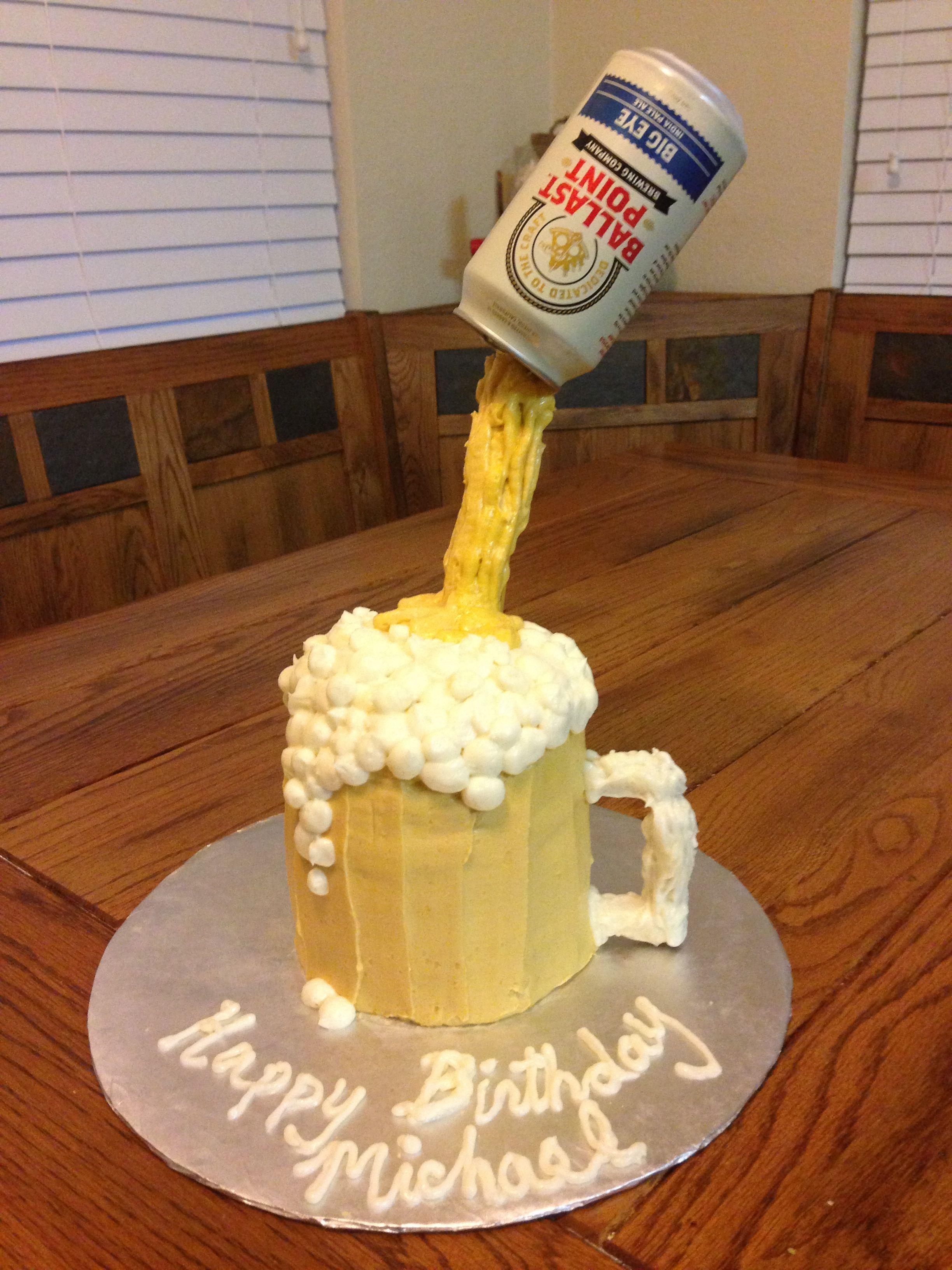 Beer cake by Luneta