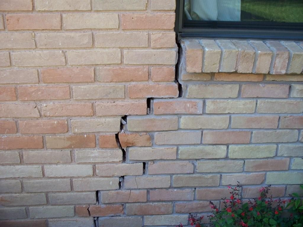Cracks in your brick ram jack can repair your foundation outdoor cracks in your brick ram jack can repair your foundation solutioingenieria Image collections