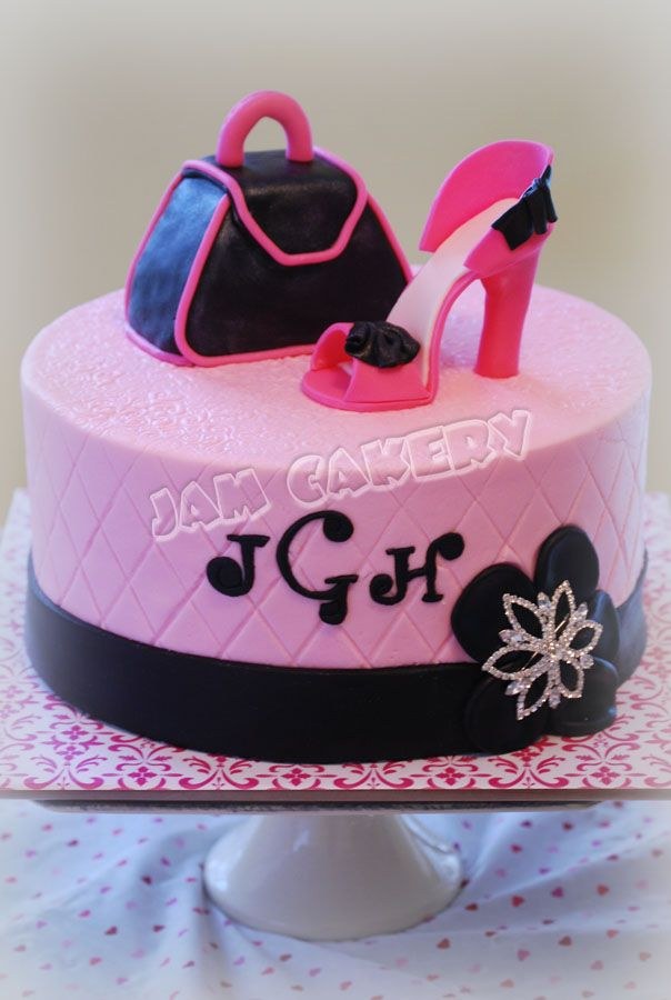 Shoe And Purse Cake Cakes And Cupcakes For Kids Birthday