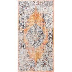Photo of benuta Läufer für Flur Tara Multicolor/Orange 70×240 cm benuta