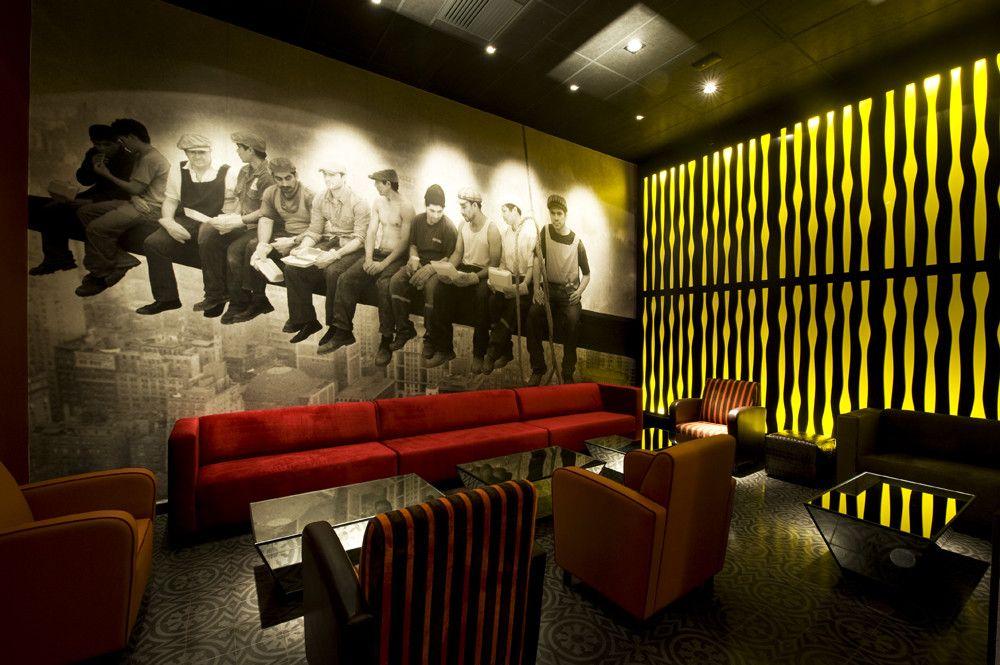 Pub Art Deco Lounge / Seinfeld Arquitectos | Cerveza | Pinterest