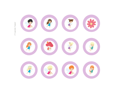 GIRL Fairy Baby Shower, Fairy Birthday Printables, Fairy Party Package, purple…
